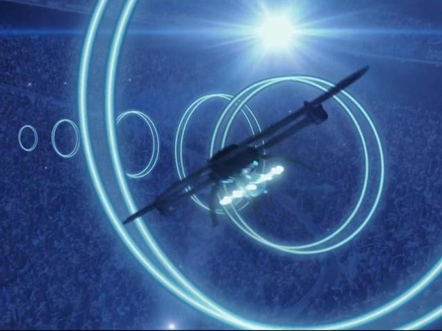 Air 2015 - Drohnen-Show (Screenshot: Michelle Starr/CNET)