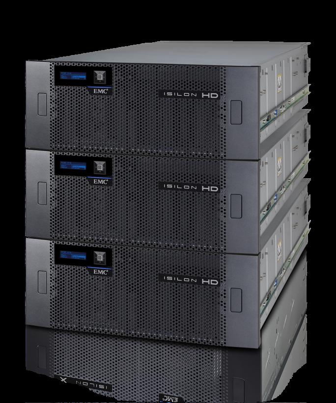 EMC verspricht dass Produktlinien wie etwa der Isilon HD400 gepflegt und entwickelt werden. (Bild: EMC)