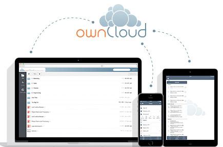 Synchronisation und Austausch von Daten bei voller Kontrolle des Speicherortes ermöglicht die Communit-Edition der Sharing-Lösung ownCloud. Version 8.0 sorgt für zahlreiche Verbesserungen. (Bild:ownCloud)