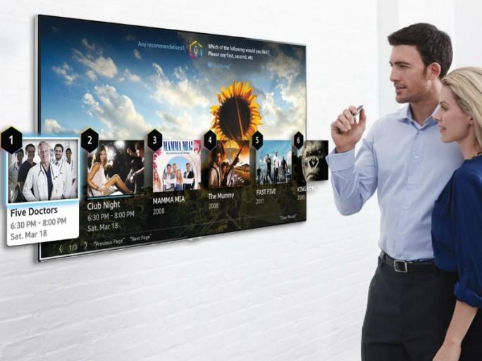 Smart-TVs bekommen meist kein Passwort, und wenn dann allzuhäufig ein bereits verwendetes. (Bild: Samsung)