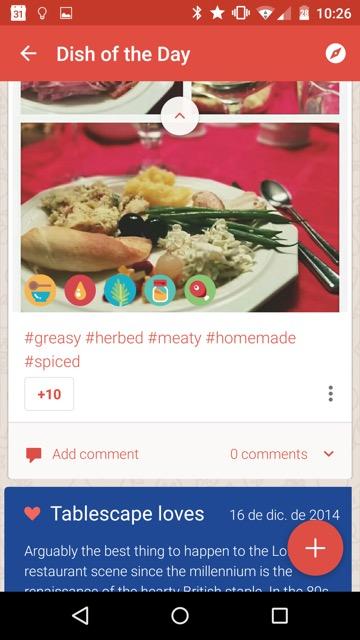 Tablescape (Screenshot: El Androide libre)