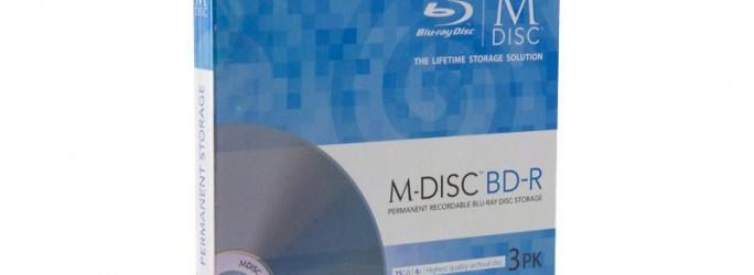 M-Disc-Blu-ray mit 25 GByte (Bild: Verbatim/Millenniata).