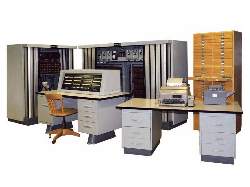 Der Rechner Zuse Z23 ist Teil der Informatiksammlung Erlangen. (Bild: ISER-Sammlung)