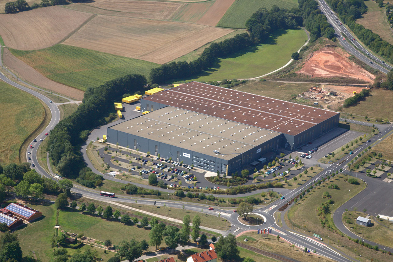Das Amazon-Logistikzentrum Bad Hersfeld (Bild: Amazon.de)