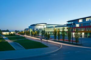Die TU München in Garchiching. Nun soll ebenfalls in Garching ein neues Zentrum für Digitalisierung ins Leben gerufen werden. (Bild: TU München)