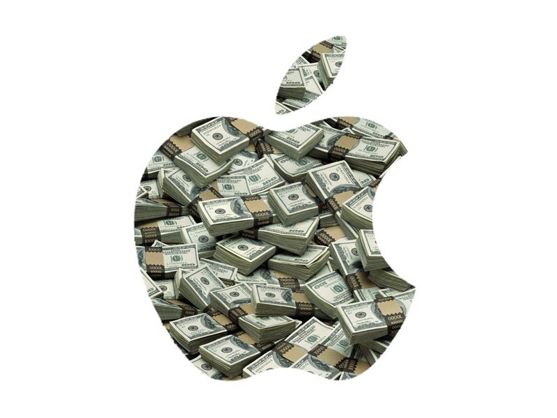 Apple Geldlogo