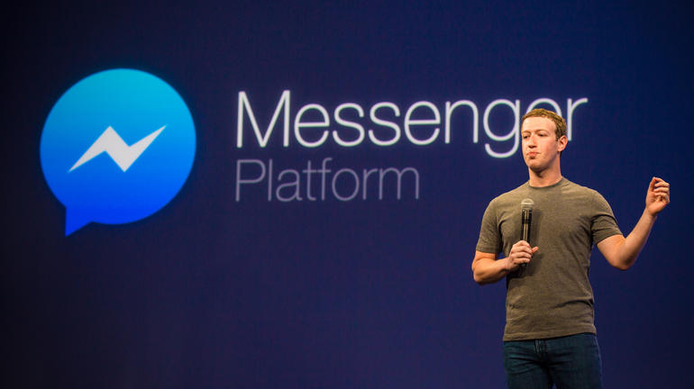 Facebook Messenger Platform (Bild: James Martin/CNET)