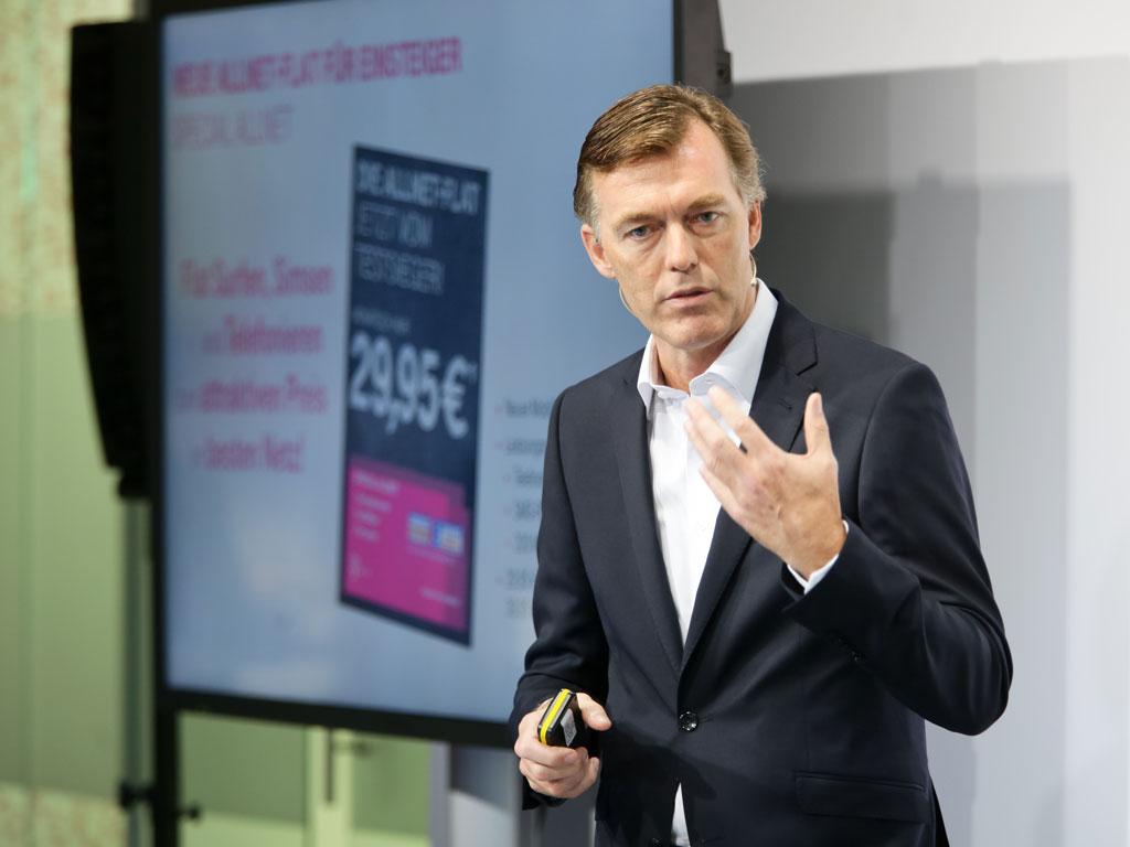 Michael Hagspihl leitet künftig das Privatkundenbusiness bei der Telekom. (Bild: Telekom/Thomas Ollendorf)