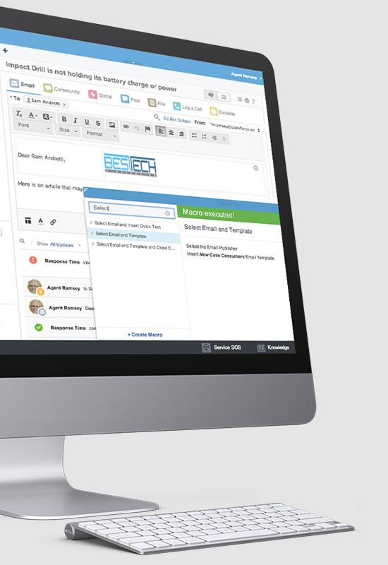 Mit der Service Cloud Intelligence Engine können Anwender den Kundenkontakt datenbasiert verfeinern. (Bild: Salesforce.com)