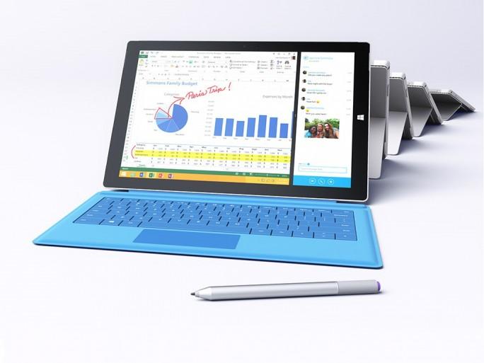 Microsoft Surface 3 Pro (Bild: Microsoft)