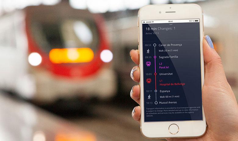 Nokia Here für iOS (Bild: Nokia)