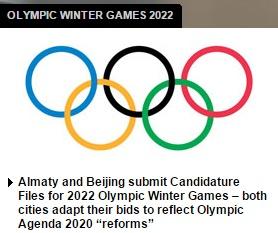 Dem IOC liegen zwei Bewerbungen für die Winterspiele 2022 vor (Screenshot: ZDNet).