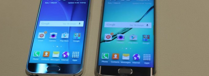 Samsung Galaxy S6 und Galaxy S6 Edge. (Bild: CNET)