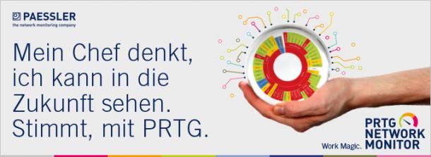 Paessler PRTG-Logo (Bild: Paessler)