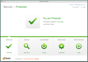 Symatec Norton arbeitet bei der Malware-Erkennung fehlerfrei und wirkt sich praktisch nicht auf die System-Performance aus. (Bild: AV-Test)