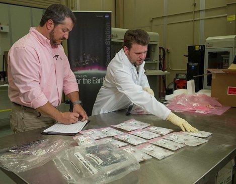 Die NASA testet die ersten im Weltraum gedruckten Teile. (Bild: NASA)