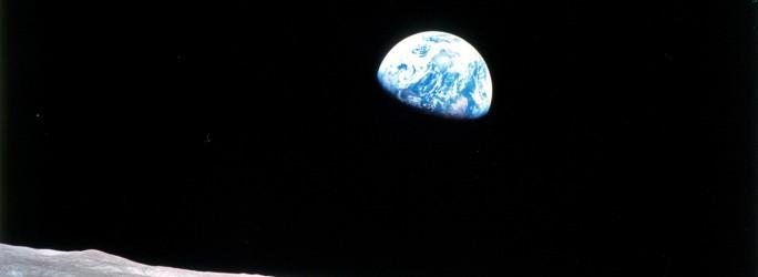 Erdaufgang aufgenommen von Apollo 8. (Bild: NASA)