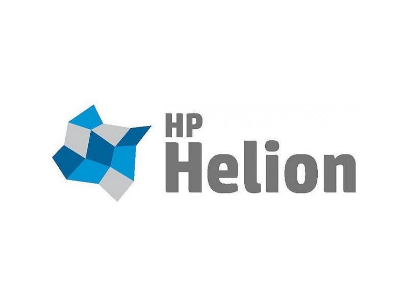 Logo HP Helion (Bild: HP)