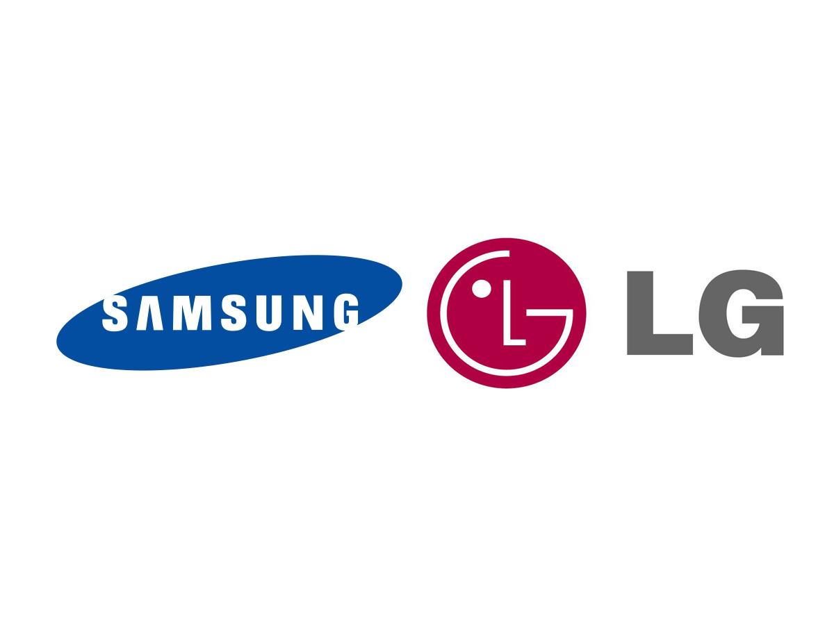 Logos Samsung & LG (Bild: silicon.de)