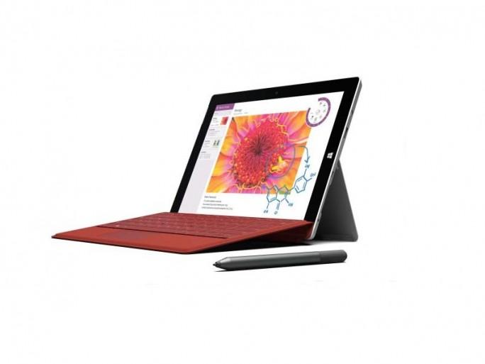 Microsoft Surface 3 mit Intel-CPU (Bild: Microsoft)