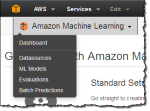 Machine Learning as a Service für AWS