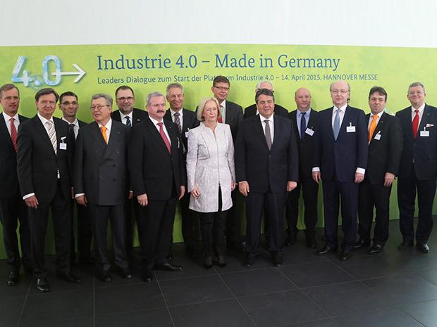 'Plattform Industrie 4.0'. (Bild: BMWi)