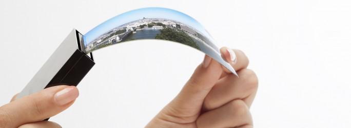 Flexibles Samsung-Display. (Bild: Samsung)