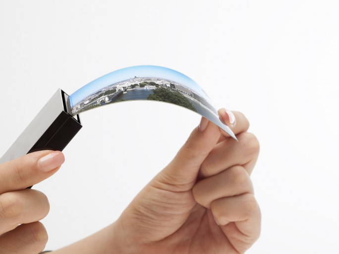 Flexibles Samsung-Display. (Bild: Samsung)