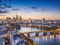 Frankfurt Skyline und DE-CIX. (Bild: Shutterstock)