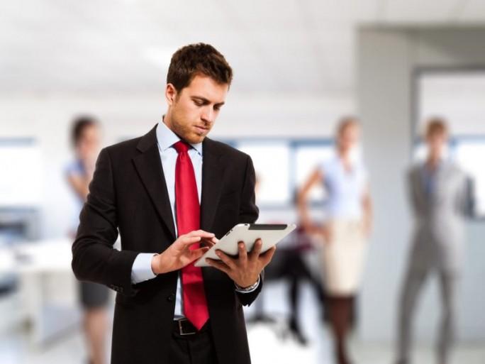 Tablet Business (Bild: Shutterstock)