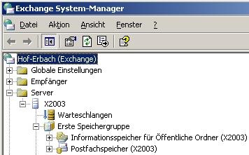 Auch Installationen wie Exchange Server 2003 müssen aus Sicherheitsgründen aktualisiert werden. (Screenshot: Thomas Joos)