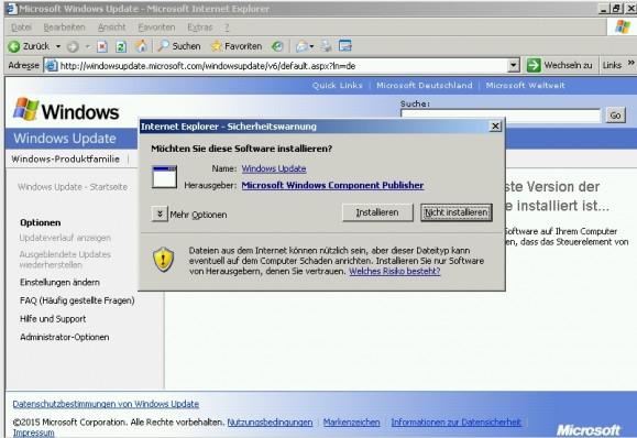 Die Update-Software auf dem Windows-Server muss vor der Installation von Updates erst aktualisiert werden. (Screenshot: Thomas Joos)