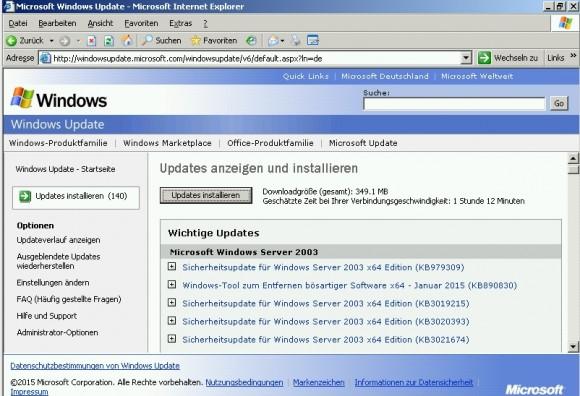 Die Windows-Update-Funktion findet einige Aktualisierungen, die dringend installiert werden sollten. (Screenshot: Thomas Joos)
