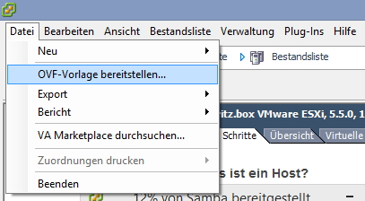 Im Windows-VMware-Client können Administratoren vorgefertigte VMs importieren lassen. (Screenshot: Thomas Joos)