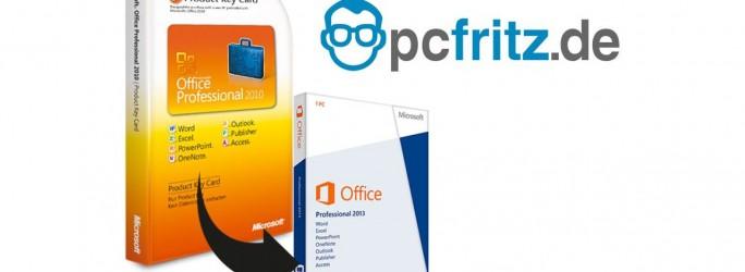 Angefangen hatte PC Fritz mit billigen Office-Paketen (Bild: PC Fritz)