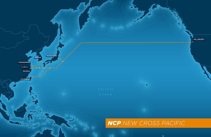 "Das ""New Cross Pacific Cable Network"" soll China, Südkorea, Taiwan und Japan mit den USA verbinden (Bild: Chungwa Telecom)."