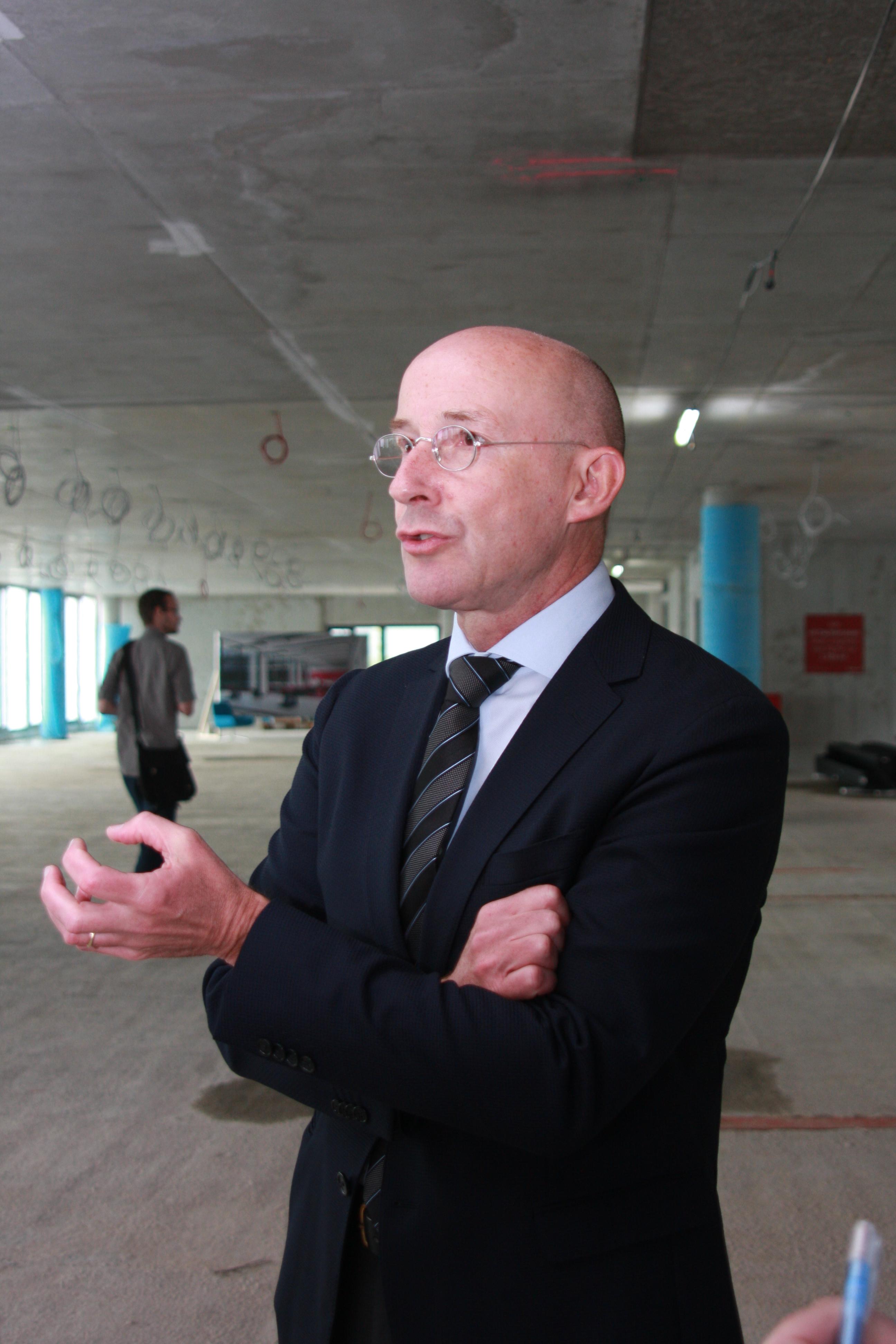 Alexander Stüger, Microsoft Deutschland Chef.