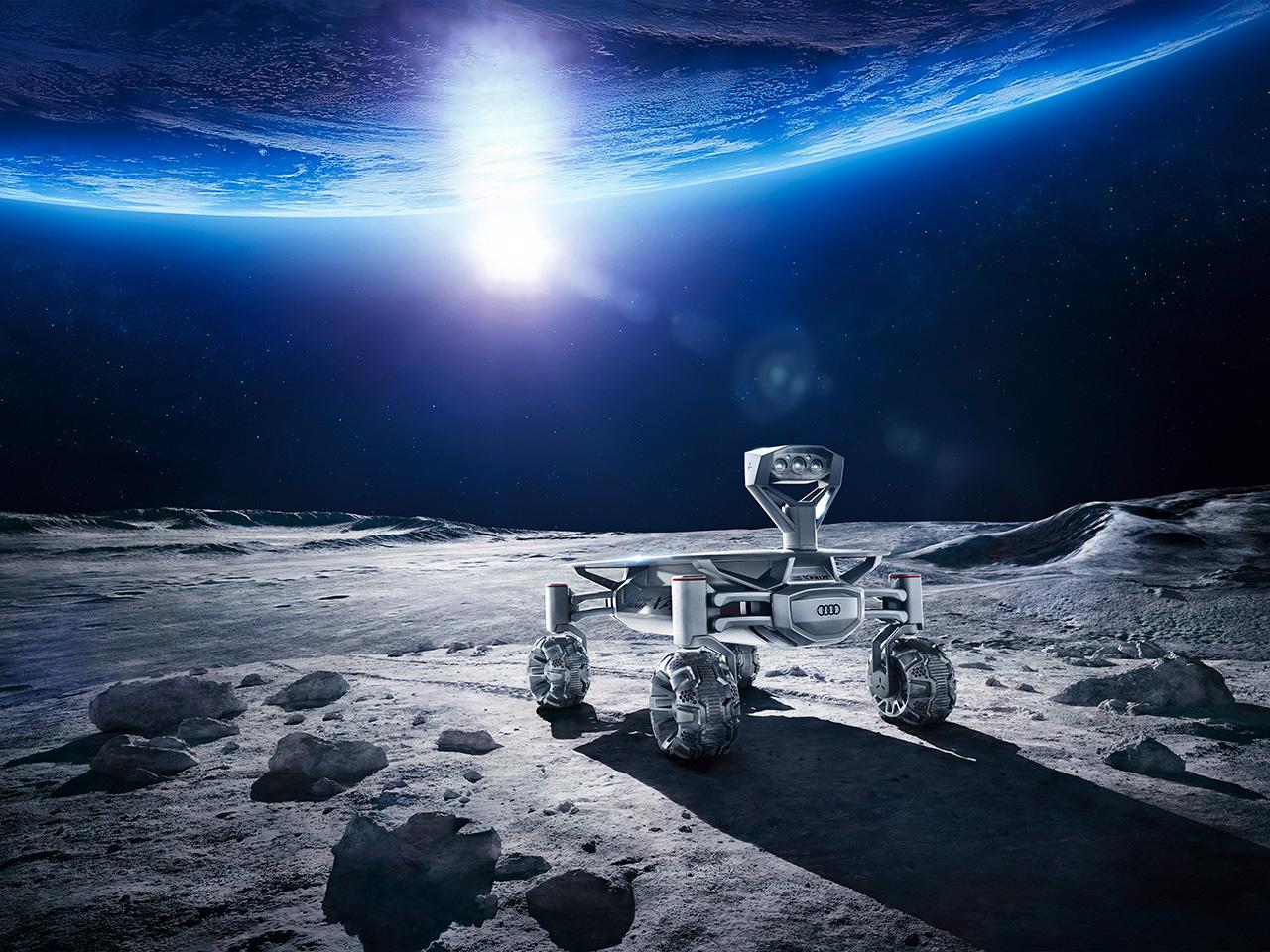 Audi lunar quattro. (Bild: Audi)