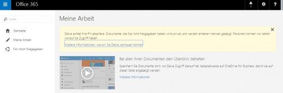 Mit Office Delve können Anwender effizienter in Teams zusammenarbeiten und erhalten eine Zusammenfassung Ihrer Daten. (Screenshot: Thomas Joos)