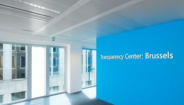 Microsoft Transparenzzentrum in Brüssel (Bild: Microsoft)