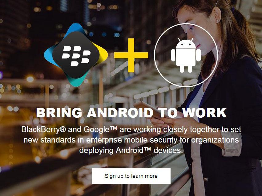Ein weiterer Hinweis für ein Android-BlackBerry? Oder lediglich erweiterter Support von BES12 für Android? (Screenshot: silicon.de)