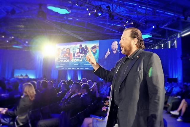 Salesforce-CEO und Chairman Marc Benioff (Foto: Mehmet Toprak)