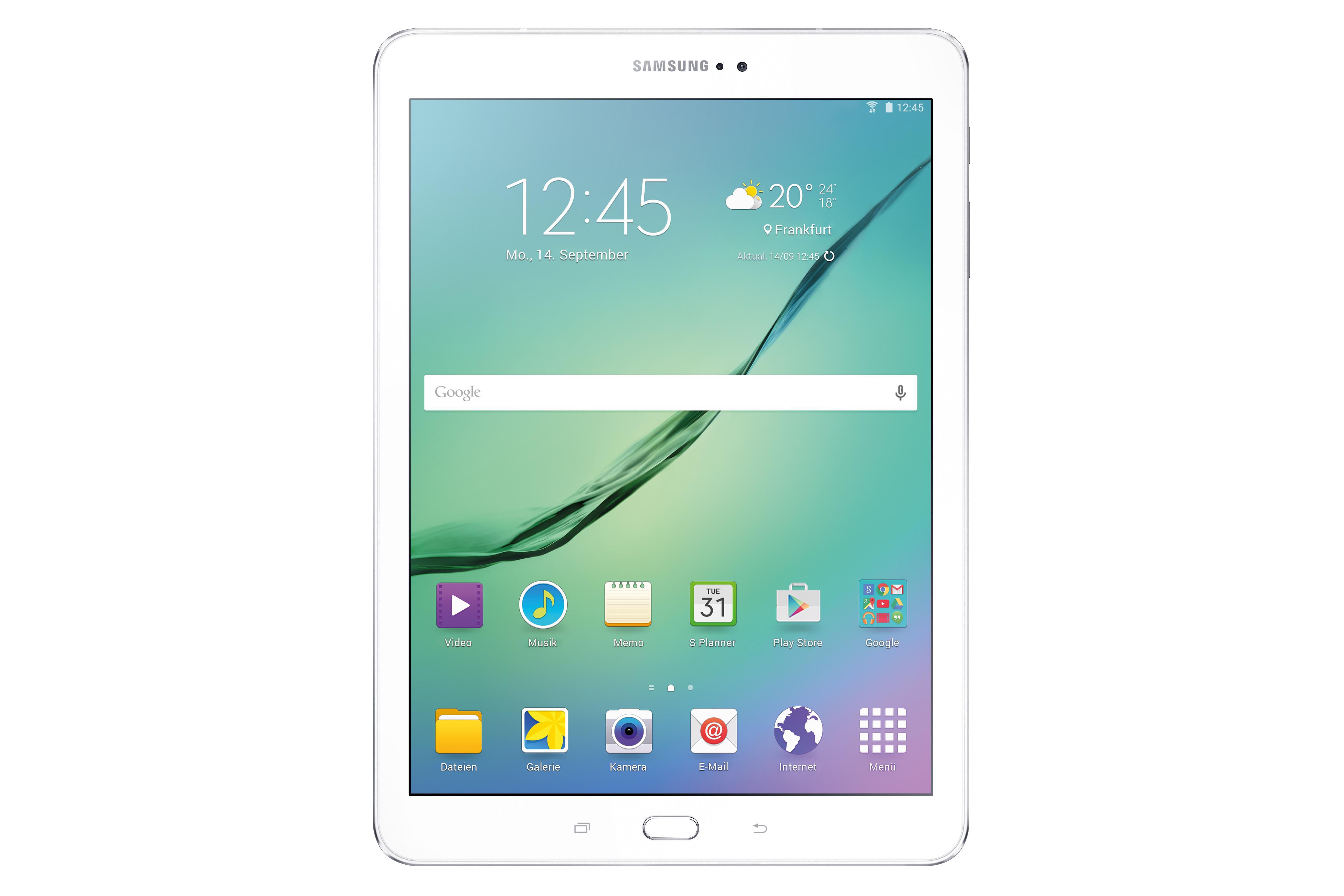 Das Samsung Galaxy Tab S2 sticht mit einem besonders dünnem und einem verbesserten Display heraus. (Bild: Samsung)