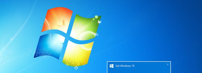 Windows benachrichtigt Nutzer, sobald das von ihnen reservierte Upgrade auf Windows 10 zur Installation bereitsteht (Bild: Microsoft).