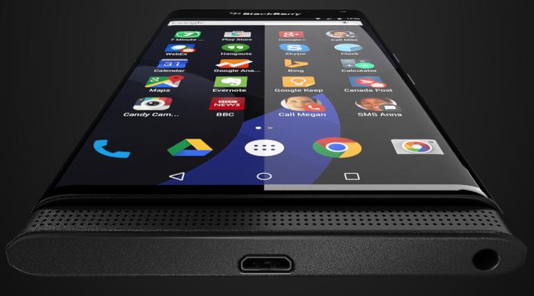 Render-Bild des mit Android ausgestatteten Blackberry Venice (Bild: Evan Blass/@evleaks)