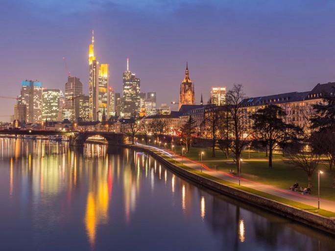 Frankfurt Skyline: die Finanzmetropole ist auch deutsche Cloud-Hauptstadt. (Bild: Shutterstock)