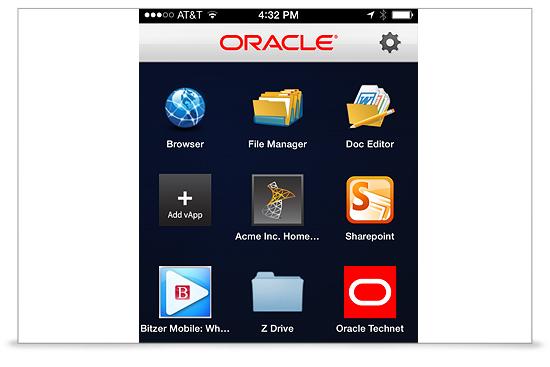 Oracle sorgt mit einer Containerisierung von Anwendungen für die Trennung von beruflichen und privaten Daten. (Bild: Oracle)