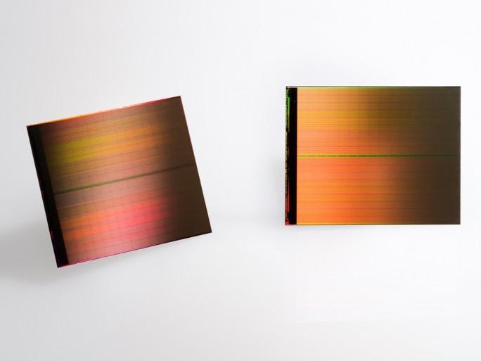 3D-XPoint-Die (Bild: Intel)