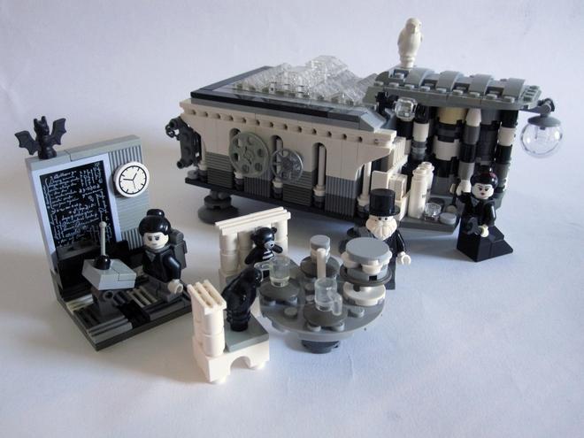 Die Analytical Engine aus Lego. (Bild: Stewart Lamb Cromar)
