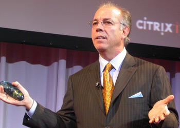 Mark Templeton, bis Juli dieses Jahres CEO bei Citrix. Nun will das Unternehmen 1000  Mitarbeiter entlassen und die GoTo-Sparte ausgliedern, um sich besser auf den Enterprise-Bereich konzentrieren zu können. (Bild: Citrix)